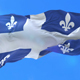Flag of Canadian Province of Quebec - VideoHive Item for Sale