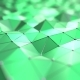 Moving Abstract Green Polygons - VideoHive Item for Sale