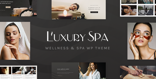 Luxury Spa - Beauty Spa & Wellness Resort Theme - Health & Beauty Retail