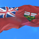 Flag of Canadian Province of Ontario - VideoHive Item for Sale