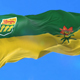 Flag of Canadian Province of Saskatchewan - VideoHive Item for Sale