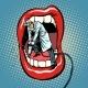 Dentist Jackhammer Drilling Teeth
