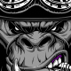 Gorilla Biker - GraphicRiver Item for Sale