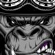 Gorilla Biker - GraphicRiver Item for Sale