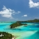 Drone Over Ocean Towards Bora Bora - VideoHive Item for Sale