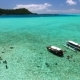 Tourists in Boats at Bora Bora - VideoHive Item for Sale