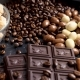 Overturned Glass with Coffee Beans and Peanuts in Chocolate - VideoHive Item for Sale