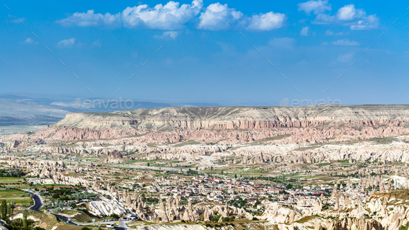 valley in Nevsehir Province in Cappadocia - Stock Photo - Images