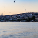 stanbul city on Golden Horn bay in spring evening - PhotoDune Item for Sale