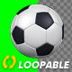 Soccer Ball - Transparent Loop - VideoHive Item for Sale
