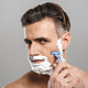 Mature man naked shaving. - PhotoDune Item for Sale