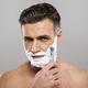 Mature man shaving with razor. - PhotoDune Item for Sale