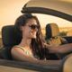 Girl driving a convertible car - PhotoDune Item for Sale