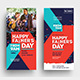 Father's Day DL Rack Card Template - GraphicRiver Item for Sale