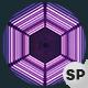 VJ Loops Neon Hexagon Lights - 12 Pack - VideoHive Item for Sale
