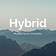 Hybrid Pitch Deck Business Keynote Template - GraphicRiver Item for Sale