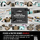 Food Pastry Boxes Mockup Bundle: Take out Packaging Mockups - GraphicRiver Item for Sale