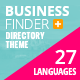 Business Finder: Directory Listing WordPress Theme - ThemeForest Item for Sale