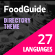 Food Guide - Restaurant, Food and Drinks Directory Listing WordPress Theme