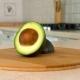 of Sliced Hass Avocado. Half of Avocado. - VideoHive Item for Sale