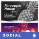 Electronic Music Party vol.38 - Facebook Post Banner Templates - GraphicRiver Item for Sale
