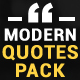 Modern Quotes Pack - VideoHive Item for Sale