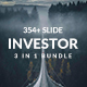 Investor Premium Bundle 3 in 1 Powerpoint Template - GraphicRiver Item for Sale