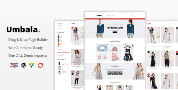 Image of Umbala - Responsive WooCommerce WordPress Theme