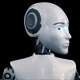 Robot Holds a Finger Near The Head - VideoHive Item for Sale