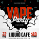 Vape Party Flyer - GraphicRiver Item for Sale