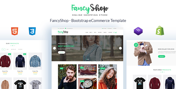 Image of Fancyshop - Responsive & Multipurpose Bootstrap Sectioned Drag & Drop Shopify Theme