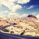 Scenic desert road, travel concept. - PhotoDune Item for Sale