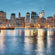 Manhattan skyline at dusk, New York. - PhotoDune Item for Sale
