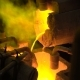 Metallurgical Production. The Molten Metal Is Pouring From the Furnace, the Hot Liquid Is Very - VideoHive Item for Sale