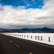 Long Panoramic Composition Open Road Two Lane Highway Winter Season - PhotoDune Item for Sale