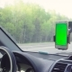 Someone Driving a Car and Scrolling Smart Phone - VideoHive Item for Sale
