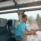 Man Making Photo while Travelling by Train - VideoHive Item for Sale