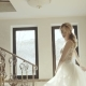 Portrait of Gorgeous Young Bride Poses and Spins in Wedding Dress - VideoHive Item for Sale