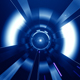 Blue Futuristic  Tunnel - VideoHive Item for Sale