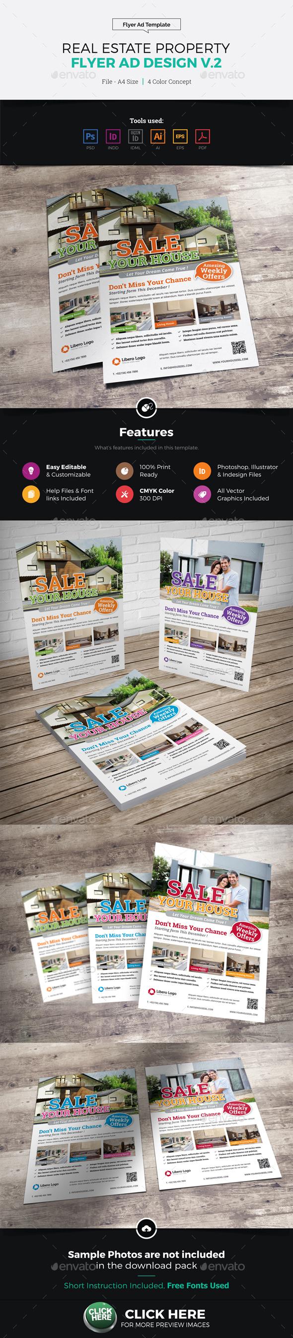 Real Estate Flyer Ad Design v2 - Corporate Flyers