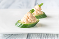 1Cucumber caviar canapes - PhotoDune Item for Sale