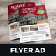 Real Estate Flyer Ad Design v3 - GraphicRiver Item for Sale