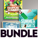 Summer Flyer Bundle v12 - GraphicRiver Item for Sale