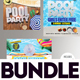 Summer Flyer Bundle v13 - GraphicRiver Item for Sale