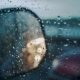 Windscreen at the Time of the Rain. Mirror of Car - VideoHive Item for Sale