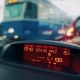 Driving a Car in Traffic Jam in Bad Weather Conditions. Car Dashboard. - VideoHive Item for Sale