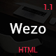 Wezo - creative one page parallax