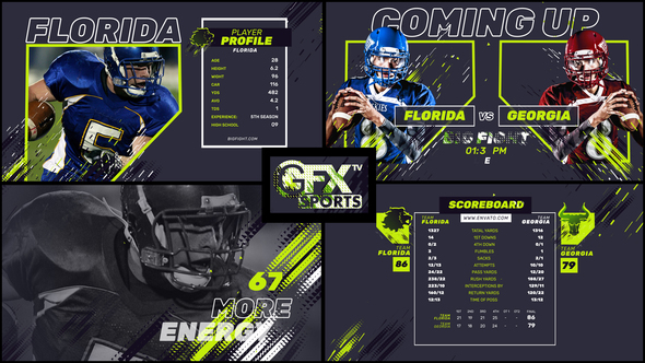 Gfx Tv Sports Pack (Sports) #Envato #Videohive – After