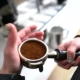 Barista Holding Portafilter with Ground Coffee - VideoHive Item for Sale