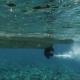 Engine Speedboat Propeller in Sea - VideoHive Item for Sale